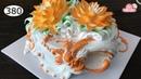 Chocolate cake decorating bettercreme vanilla 380 Học Làm Bánh Kem Đơn Giản Đẹp - Sen 380