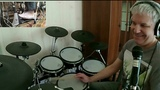 Bossa Nova and son clave with left foot (free drum lesson)