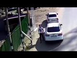 Потасовка на тюменской переправе