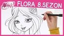 Winx Club - 8. Sezon - Flora Karakterinin Çizimi (ÖĞRETİCİ)