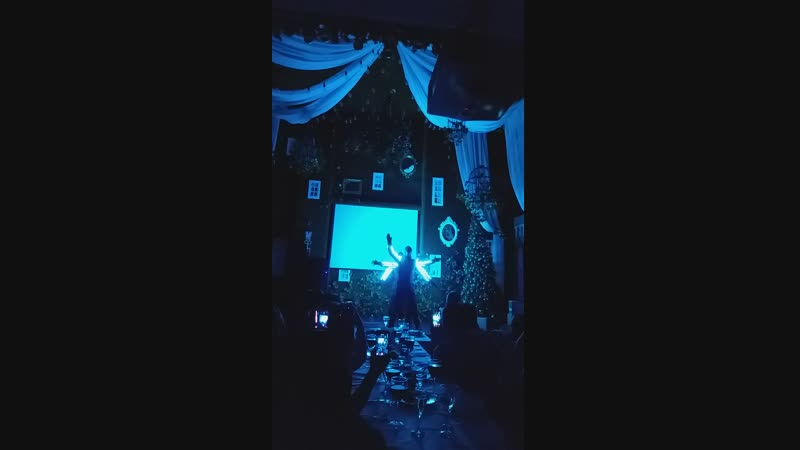 Световое шоу от Электрик лайт в Грин Хаусе