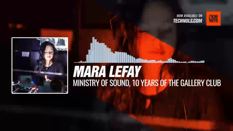 @maralefay - Ministry Of Sound, 10 Years of The Gallery Club Periscope Techno music