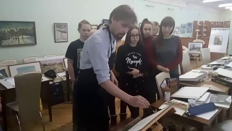 мастер- класс Владимира Заруцкого!