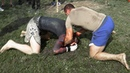 Бой боец MMA против боксера / Проверили головы на прочность