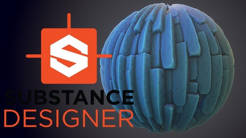 Substance Designer Stylized Basalt Rock