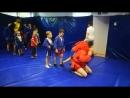 Продуктивная тренировка с элементами боевого самбо. Самбо дети