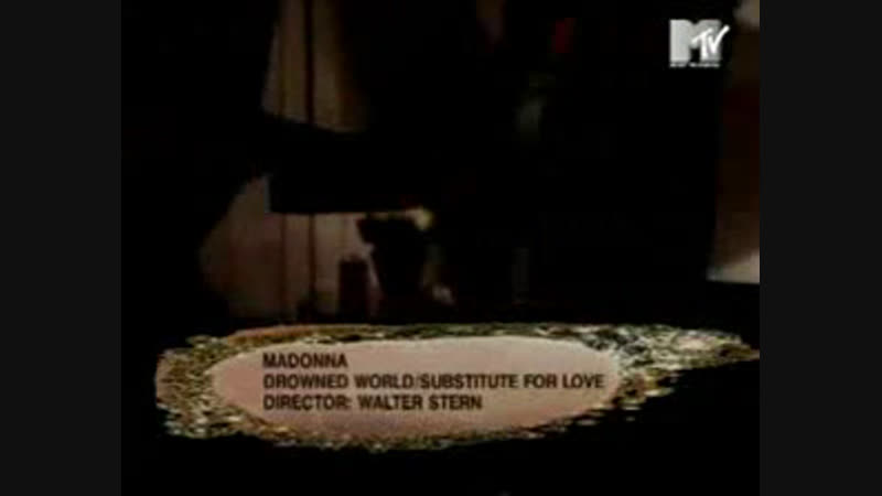 Madonna - drowned worldsubstitute for love mtv