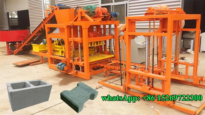 GiantLin Machinery QT4 25 automatic concrete block making machine price