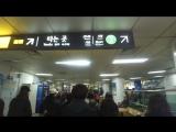 Объясняю рандомному человеку как проехать в сабвее в Сеуле