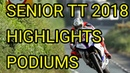 TT ISLE OF MAN Senior race 2018 highlights lap record podium