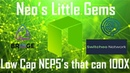 Neo's little gems: NEP5's that can 100x $TOLL $EFX $SWTH