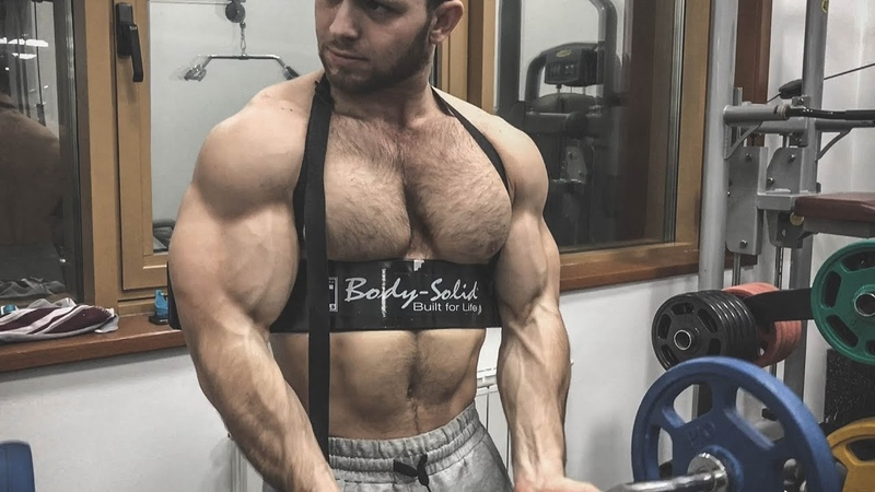 Biggest Young Arms Ever! 50 cm Biceps And Amazing Aesthetic In 21 Years Old