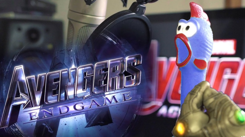 Chickenさん singing The Avengers Theme cover