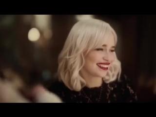 Эмилия кларк в новой рекламе dolce and gabbana the only one