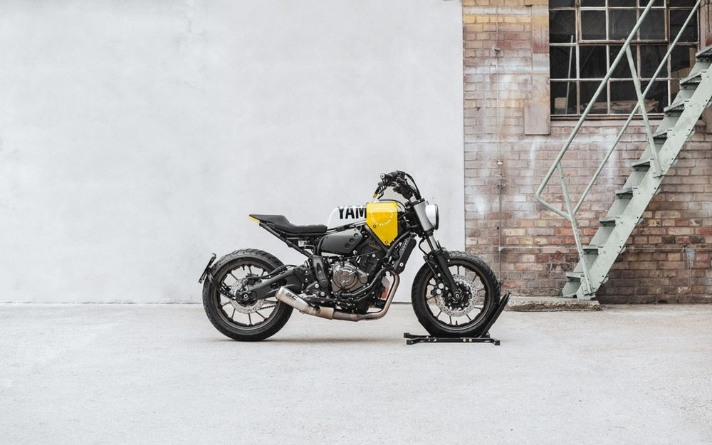 Hookie x Yard Build: кастом Yamaha XSR700  «Кузьнечик» / «Grasshopper»
