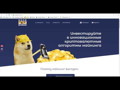 Вывод из проекта Dogeminer.net (18 июня 2018)