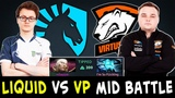 BEST mid players in Dota Liquid.Miracle vs VP.Noone