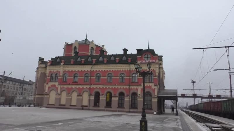 ЖД вокзал Дебальцево сегодня.