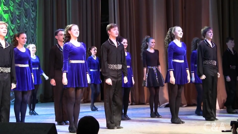 Irish dance Ирландский танец Степ чечетка[1]