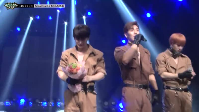 [VK][181102] MONSTA X The 1st of November with Shoot Out Ceremony Cut @ Music Bank