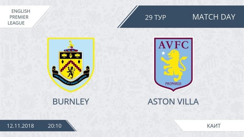AFL18. England. Premier League. Day 29. Burnley - Aston Villa