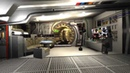 Millennium Falcon Simulator. Early Alpha (Flight Interior tour)