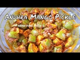 Andhra Mango Pickle Recipe in Hindi Avakaya Pachadi Mango Pickle Recipe South Indian Style