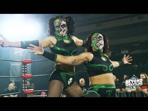 Free Match Twisted Sisterz vs Team Pazuzu Women's Wrestling vs Beyond Intergender Mixed Tag