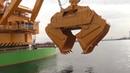 World's Monster Equipment Biggest Largest Heaviest Bucket Backhoe Dredger On Earth