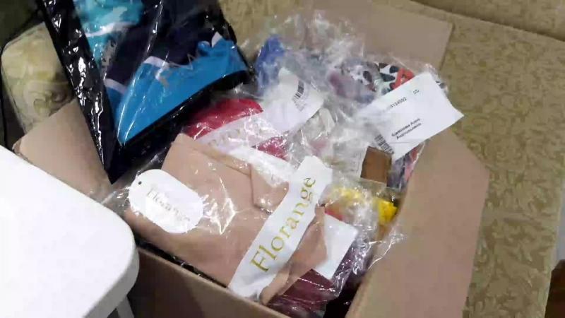 Очередная коробочка продукции обзор заказа от Фаберлик.