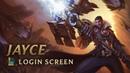 Jayce the Defender of Tomorrow Login Screen League of Legends