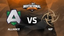 Alliance против NiP, Первая карта, Play-Off, GG.Bet Dota 2 Invitational