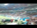 Фанаты Португалии скандируют название любимой сборной (роналду реал мадрид футбол )