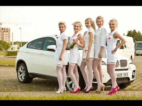 Медсестры В телесных колготках и чулках Красивые девушки и высокие каблуки Sexy Girls
