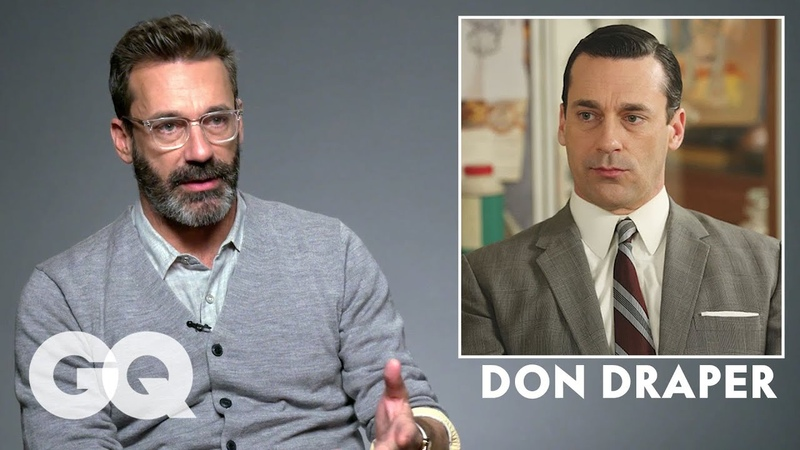 Jon Hamm Breaks Down His Most Iconic Characters   GQ