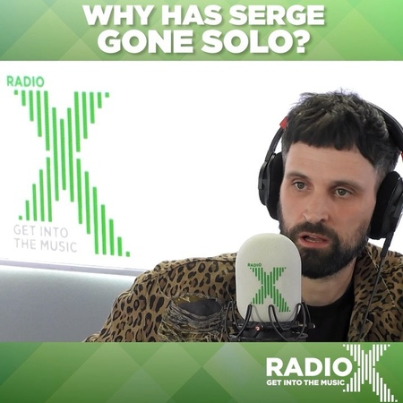 "Radio X on Instagram: """"It was now or never."" Sergio Pizzorno explains to John Kennedy why he's decided to make @the_s.l.p now, and how it effects…"""