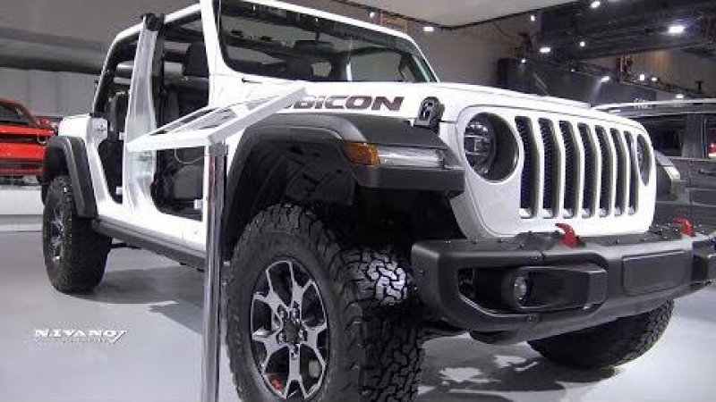 2018 Jeep Wrangler Rubicon Unlimited - Exterior And Interior Walkaround - 2018 Montreal Auto Show