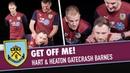 GET OFF ME! | Joe Hart Tom Heaton Gatecrash Ashley Barnes