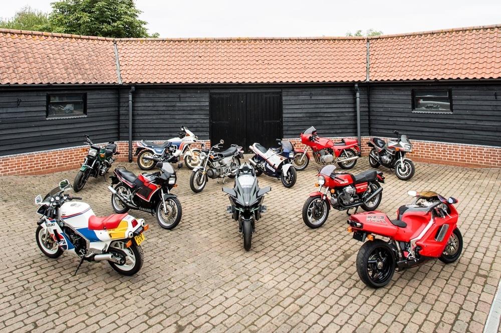 Более 80 быстрых мотоциклов продадут с мотоаукциона Bonhams