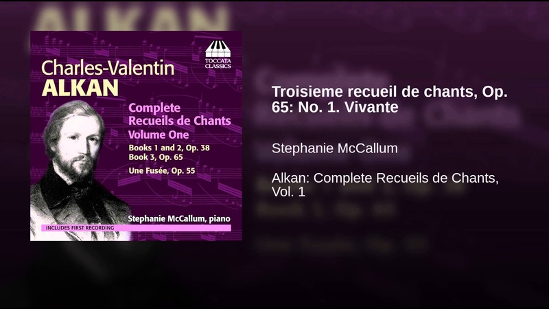 Troisieme recueil de chants, Op. 65 No. 1. Vivante