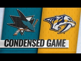 San Jose Sharks vs Nashville Predators – Oct.23, 2018