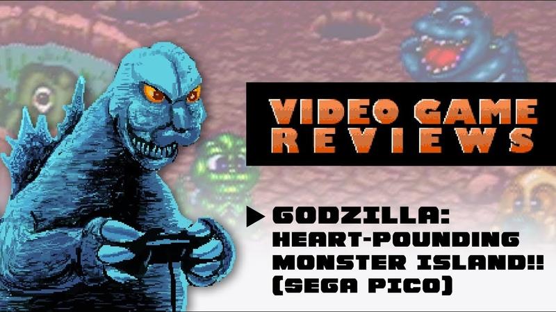 Godzilla Heart-Pounding Monster Island!! (Sega Pico) - MIB Video Game Reviews Ep 8