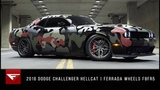 2016 Dodge Challenger Hellcat Hell of a Night Ferrada Wheels F8FR5