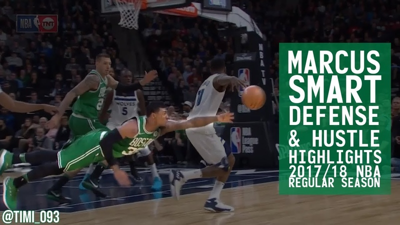 Marcus Smart Defense Hustle Highlights 2017/18 Regular Season