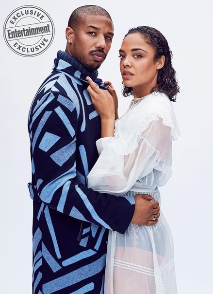 Michael B. Jordan & Tessa Thompson Entertainment Weekly, 2018