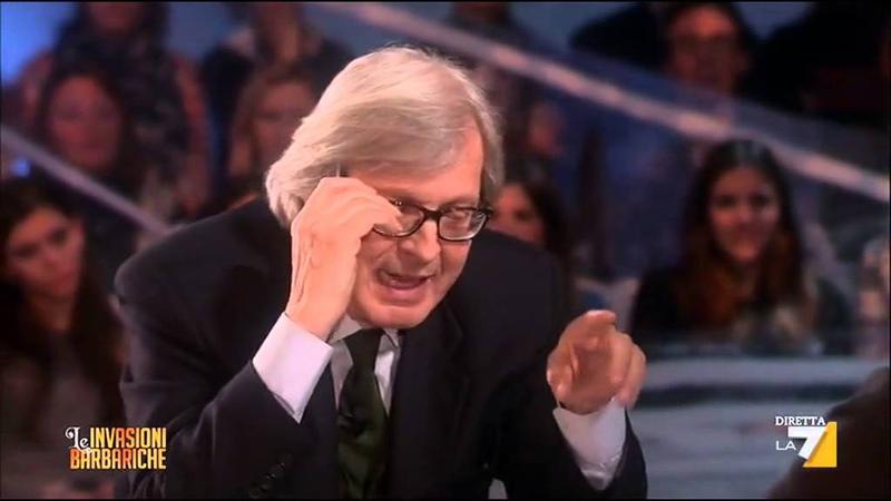 Vittorio Sgarbi: Ho visto tutti i bunga bunga, una donna che andava ad Arcore diventava puttana