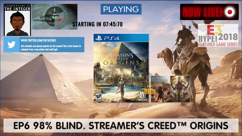 Who needs AssassinsCreedOdyssey when you have AssassinsCreedOrigins! Its back to Egypt with us! - EP6
