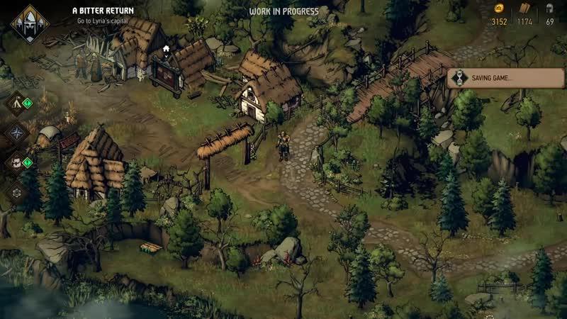 37 минут геймплея игры Кровная вражда Ведьмак Истории