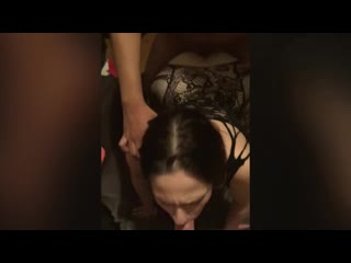 2 guys one hot girl couple invites friendfan to come over and play mmf