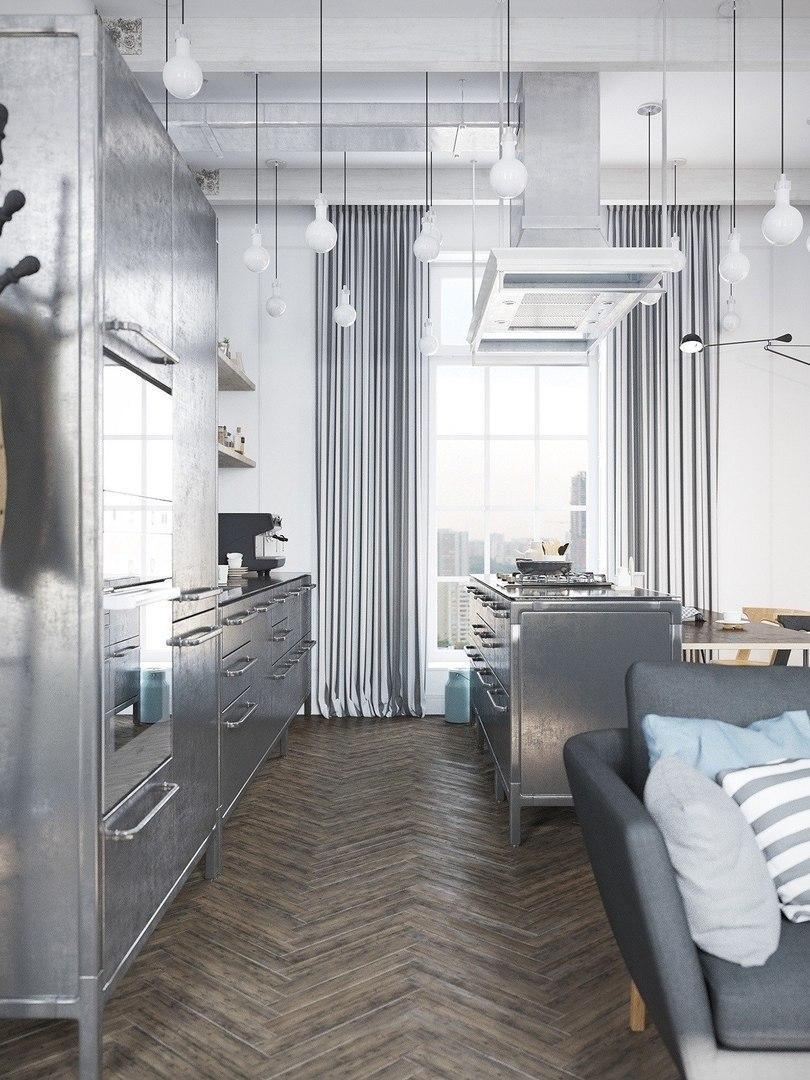 Интересный интерьер квартиры в Мурманске